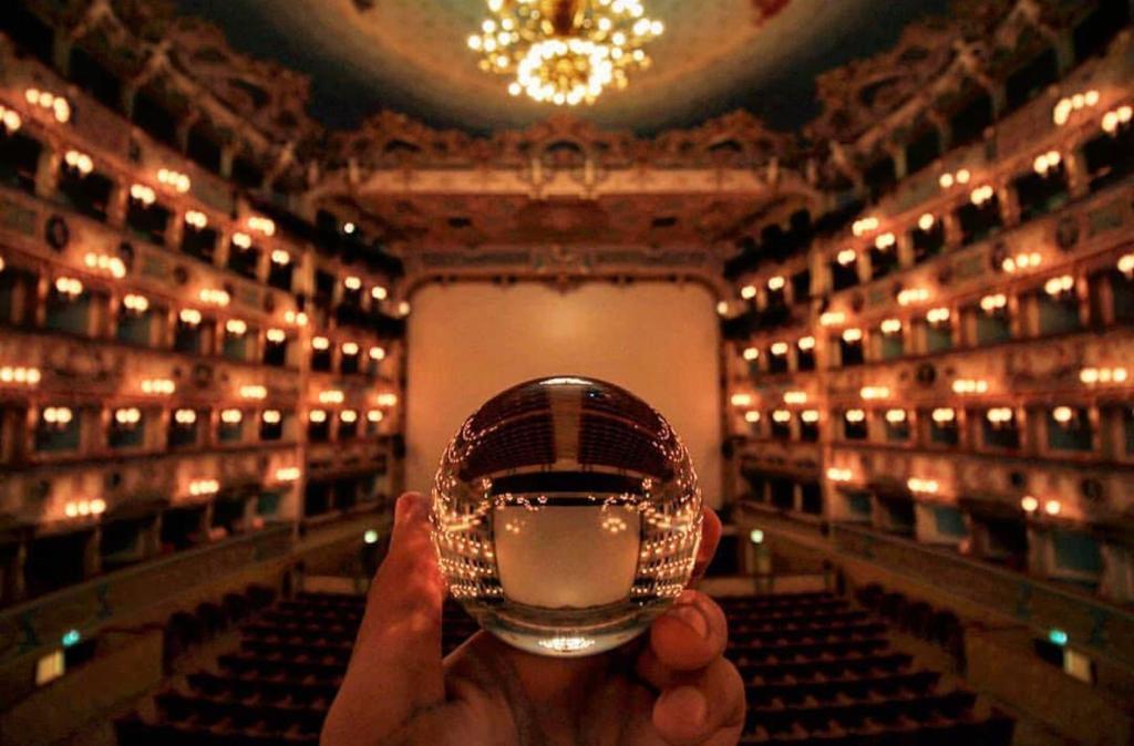 An image of Teatro la Fenice from Instagram- @TeatrolaFenice